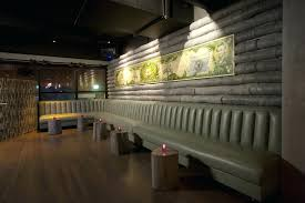 Custom Restaurant Booths Upholstered Booths Restaurant Banquette Seating Furniture Dark Grey Upholstered Booth