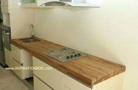 plan de cuisine en bois plan travail cuisine bois conceptkicker co