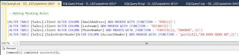 Tsql Alter Table Add Column Sql Server 2016 Dynamic Data Masking Demonstration Script