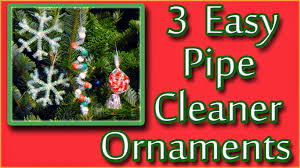easymeworld 3 easy pipe cleaner ornaments