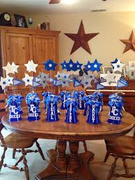 centerpieces for tchs titan cheer banquet tchs projects 2014