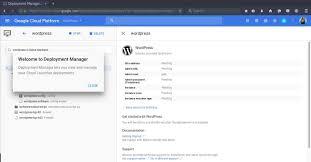 installing wordpress on google cloud platform u203a alex de borba