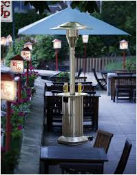 natural gas patio heater lowes backyards chic red ember carbon collapsible gun metal glass tube