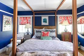 Global Decor Styles 30 Bedrooms That Wow With Mismatched Nightstands