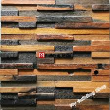 natural wood mosaic tile 3d wall pattern nwmt022 kitchen tile