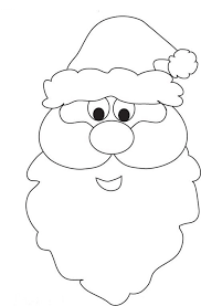 christmas santa coloring pages printable get coloring pages
