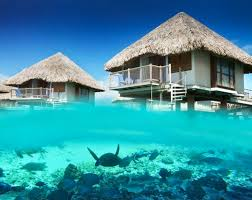House Over Water Bora Bora Resorts Bungalow Moorea Resorts Islands