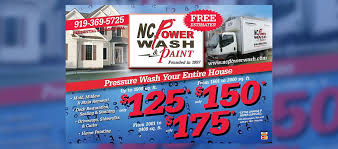 Pressure Washing Estimate by Pressure Washing In Raleigh Cary Nc Nc Powerwash Paint