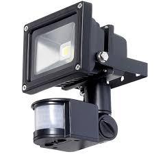 led security light fixtures 12v led flood light with pir motion detector
