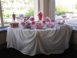 tablecloths decoration ideas interesting buffet table with white candle combined chrome