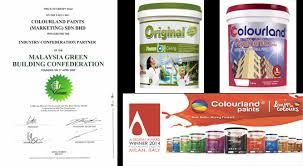 colourland malaysian brands