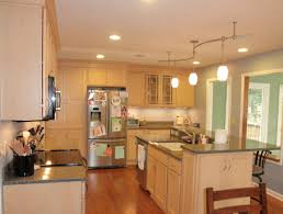 kitchen kitchen island lighting stainless steel countertop and