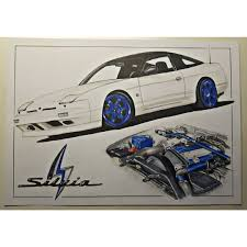nissan silvia drawing images tagged with enginedrawing on instagram