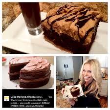 i won gma u0027s national chocolate cake day contest boating