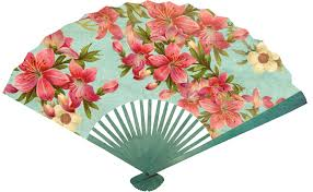 asian fans printable asian fans cherry blossom table cook culinary