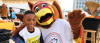 volunteer at the txu energy bakerripley turkey trot houston