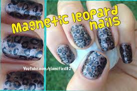 cool magnetic leopard cheetah nails easy konad bundle monster
