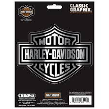 harley davidson classic emblem decal logo for truck 3017 the