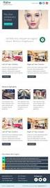 Two Column Responsive Email Template by Flatro Responsive Email Newsletter Templates By Guiwidgets