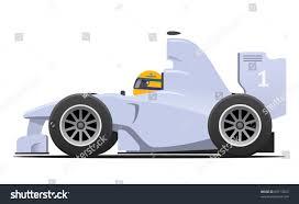 formula 1 gray race car cartoon stock vector 69713563 shutterstock