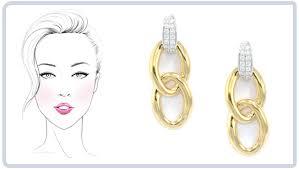gold earrings in shape choosing earrings which are best for you wixon jewelers
