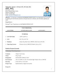 consulting resume sample sap consultant resume sample resume for your job application sap consultant resume sap consultant resume sap fi consultant 1 mubashir ahmed erp sap basis consultant