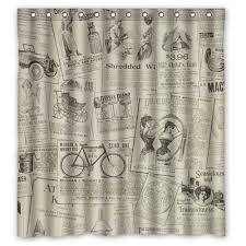 Vintage Shower Curtain 24 Best Vintage Shower Curtain Images On Pinterest Bathroom