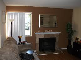 Accent Walls In Living Room by Fireplace In Living Room Painted With Tan Accent Color Fireplace