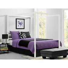 dhp modern canopy queen metal bed free shipping today