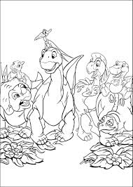 land before time coloring page free download
