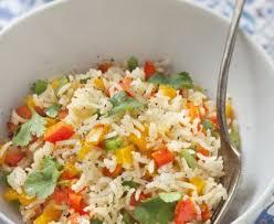 cuisine riz riz aux poivrons recette de riz aux poivrons marmiton