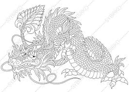 chinese dragon coloring coloringpageexpress