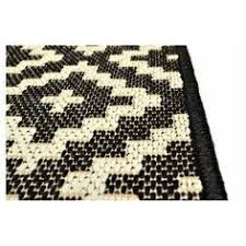 Threshold Indoor Outdoor Rug Indoor Outdoor Geometric Diamond Rug Ivory Black Live
