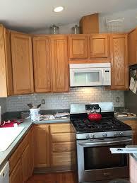 farmhouse kitchen with oak cabinets farmhouse kitchen the hamm homestead