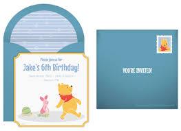 Winnie The Pooh Invitation Cards Plan A Wondrous Winnie The Pooh Birthday Party