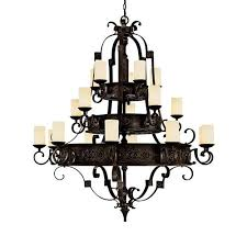 chandeliers modern iron shabby chic country