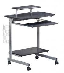 Small Rolling Computer Desk Computer Desks With Wheels Foter