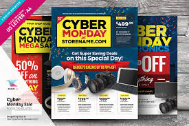 amazon black friday cyber monday sell cyber monday sale flyer templates by kinzi21 graphicriver