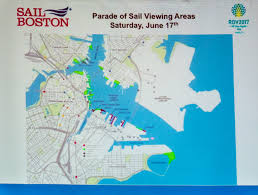 Boston Ferry Map by Marathon Like Security On Waterfront For June 17th Tall Ships