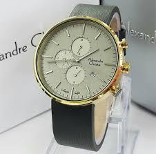 Jam Tangan Alexandre Christie Terbaru Pria jam tangan alexandre christie 6415 tali kulit harga murah