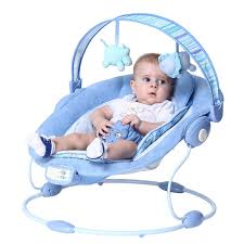 Baby Bouncing Chair Aliexpress Com Buy Free Shipping Blue Luxury Baby Cradle Swing