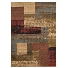Brown Geometric Rug Rugs Brown Geometric 8x10 Area Rugs Cheap For Floor Covering Idea