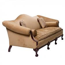 a vintage chippendale camel back sofa northgate gallery antiques