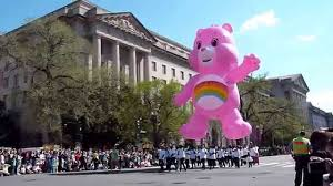 National Cherry Blossom Festival by Huge Pink Helium Balloon 2015 National Cherry Blossom Festival
