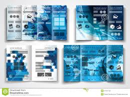 engineering brochure templates vector tri fold brochure template design or flyer layout stock