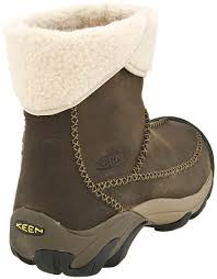 womens boots keen keen hoodoo mid calf wool lined winter boots slate black rust