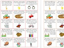 addition and subtraction word problems year 1 differentiated by