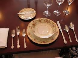 Formal Table Settings Betty S Tip 86 An Exle Of A Formal Place Setting