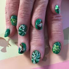 fancy nails beautify themselves with sweet nails