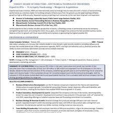 corporate resume template resume templates foundation executiveector exles board ofectors